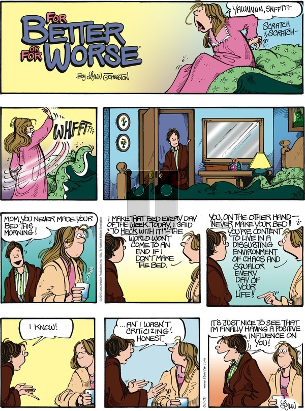For Better or For Worse - Sunday February 10, 2019 Comic Strip