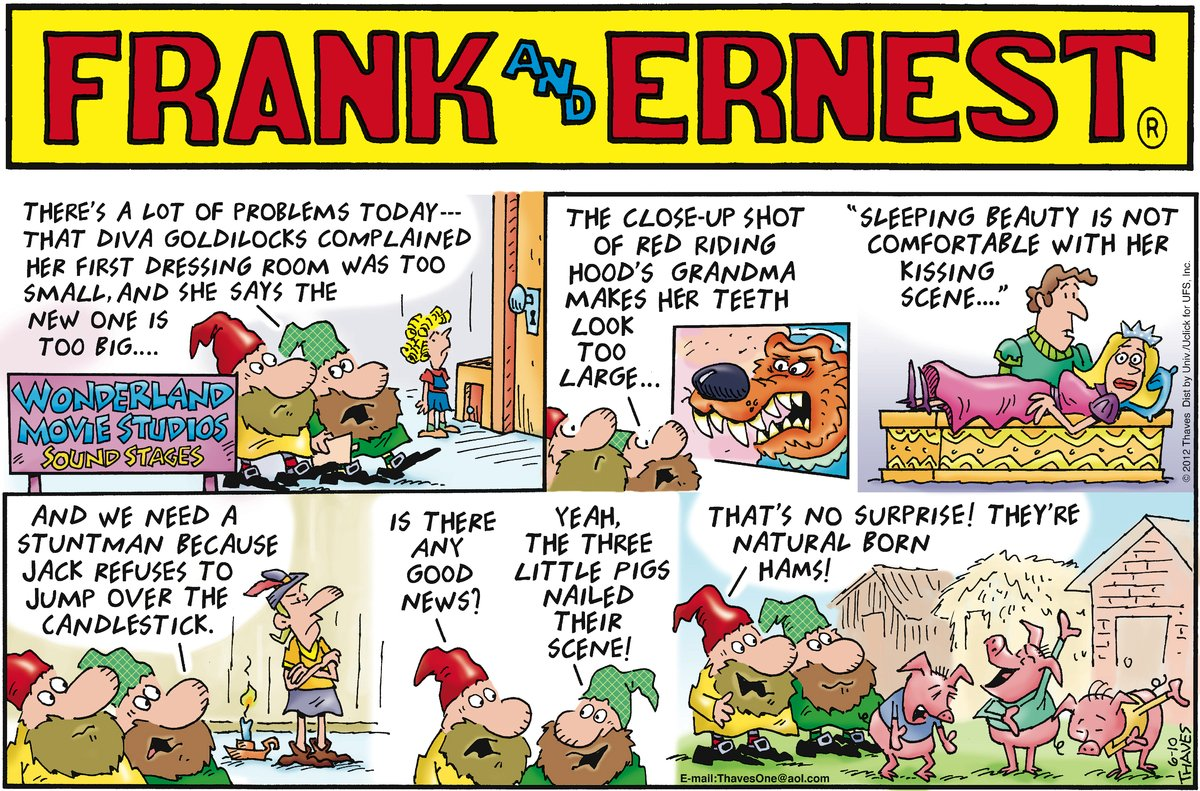 Frank and Ernest for Jun 10, 2012 Comic Strip
