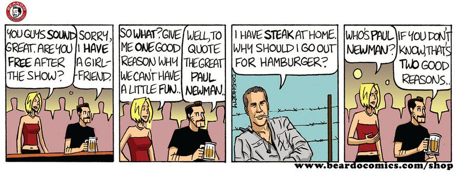 Beardo Comic Strip for March 31, 2019