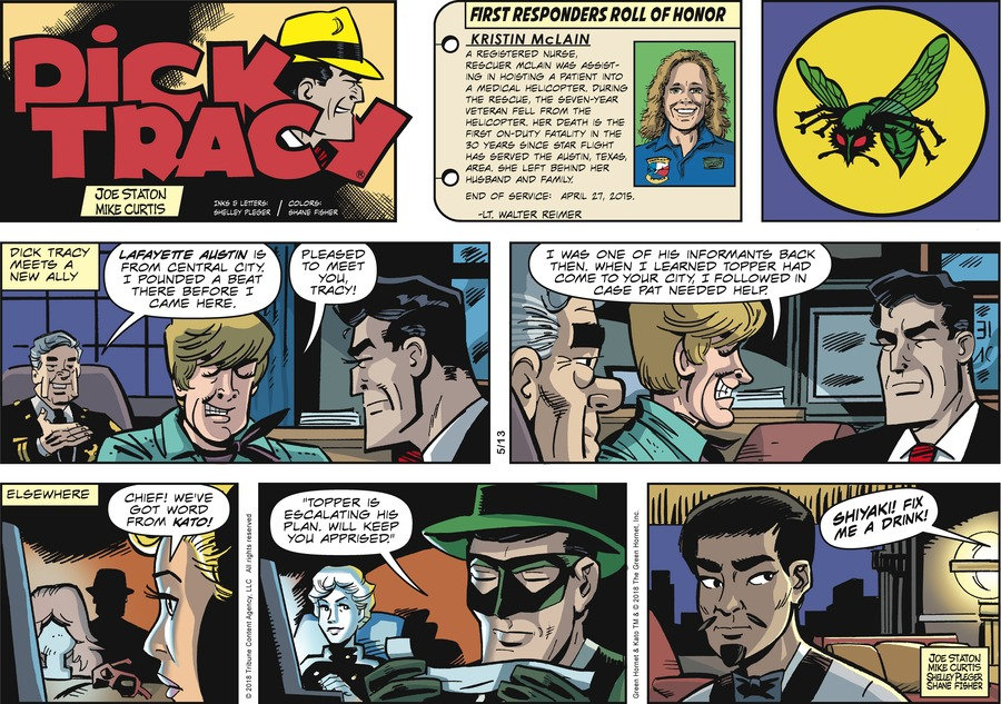 Dick Tracy Comic Strip for May 13, 2018