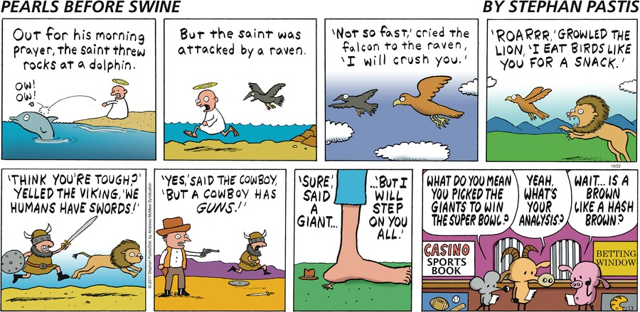Pearls Before Swine for Oct 22, 2017 Comic Strip