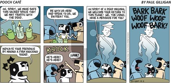 Pooch Cafe on Sunday December 2, 2018 Comic Strip