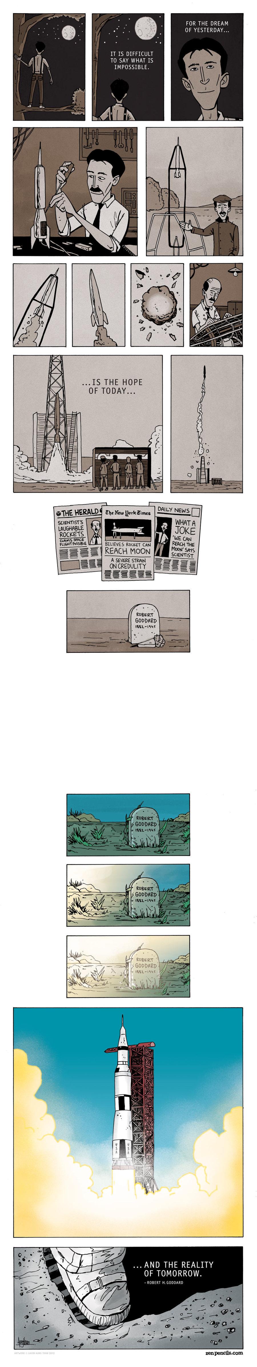 Zen Pencils Comic Strip for September 28, 2015