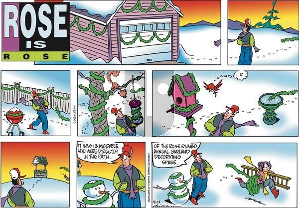 Rose is Rose on Sunday December 13, 2020 Comic Strip
