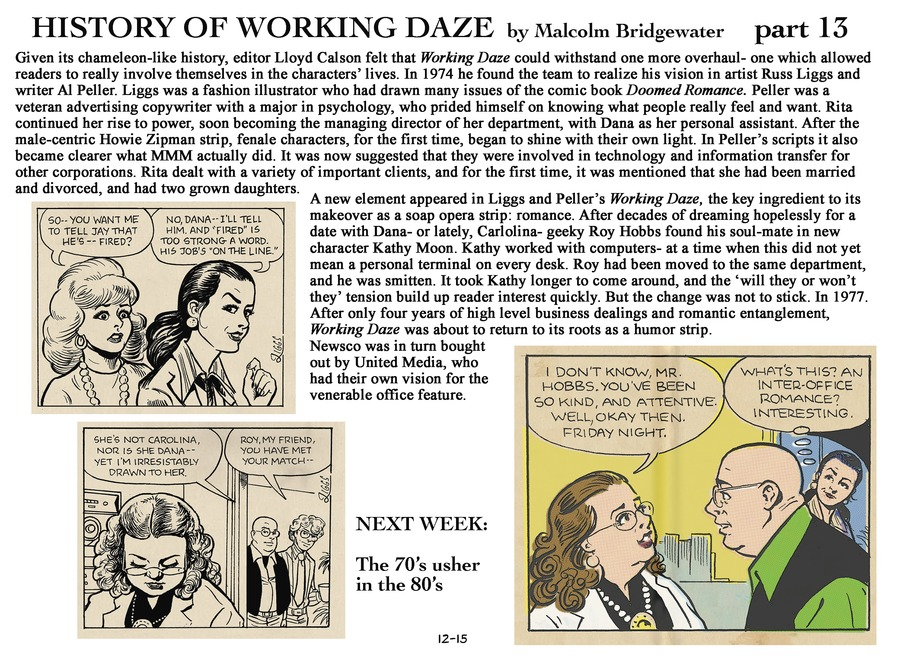Working Daze for Dec 15, 2013 Comic Strip