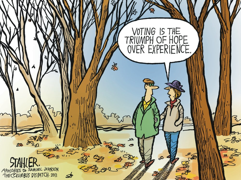 Jeff Stahler Comic Strip for November 06, 2011