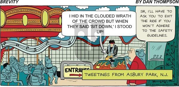 Brevity on Sunday November 1, 2020 Comic Strip