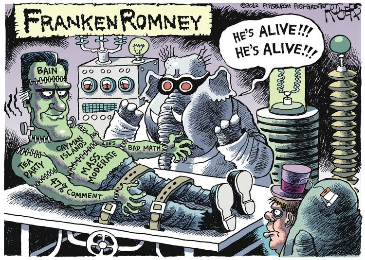 Elephant: He's alive! He's alive! FrankenRomney