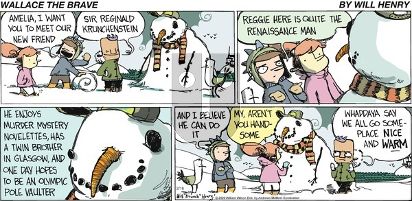 Wallace the Brave - Sunday February 16, 2020 Comic Strip