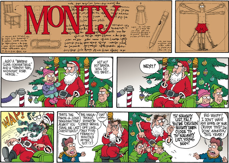 Monty for Dec 16, 2012 Comic Strip