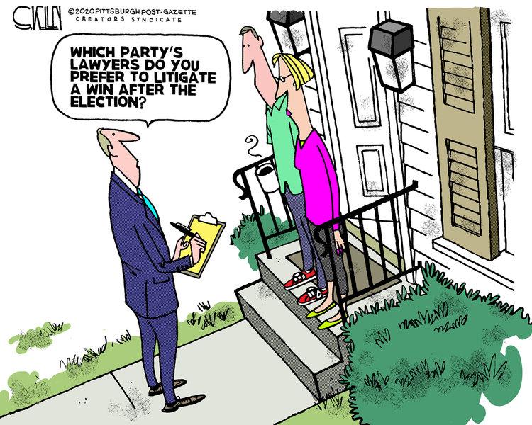 Steve Kelley Comic Strip for September 27, 2020