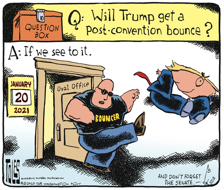 Tom Toles Comic Strip for August 30, 2020