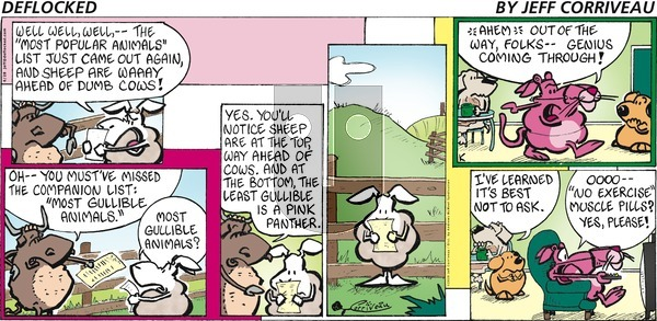 DeFlocked - Sunday June 28, 2020 Comic Strip