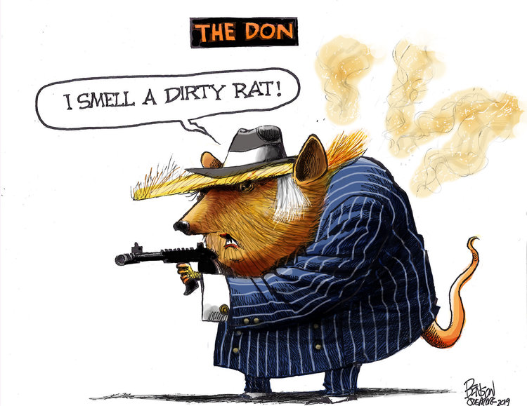 Steve Benson Comic Strip for March 29, 2019