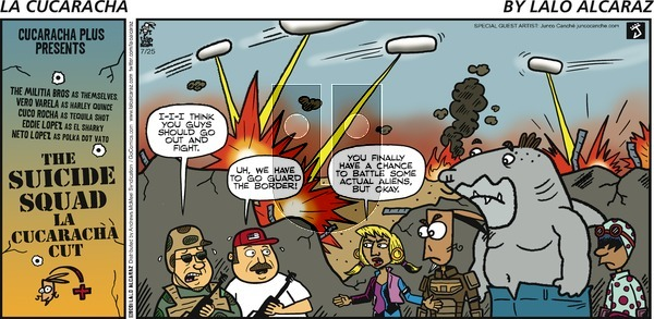 La Cucaracha on Sunday July 25, 2021 Comic Strip
