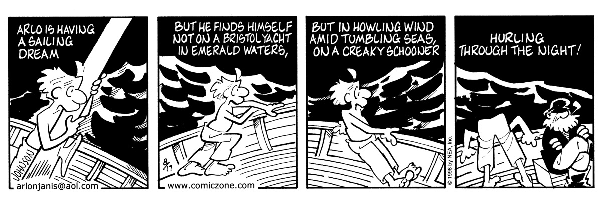 Arlo and Janis Comic Strip for August 17, 1998