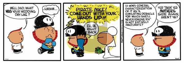 Pirate Mike on November 27, 2018 Comic Strip