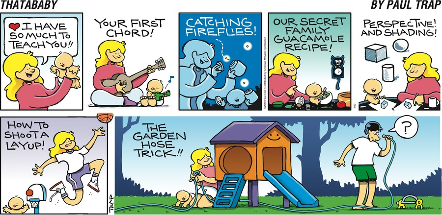 Thatababy Comic Strip for June 30, 2019