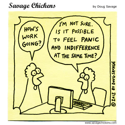 Savage Chickens Comic Strip for March 16, 2016