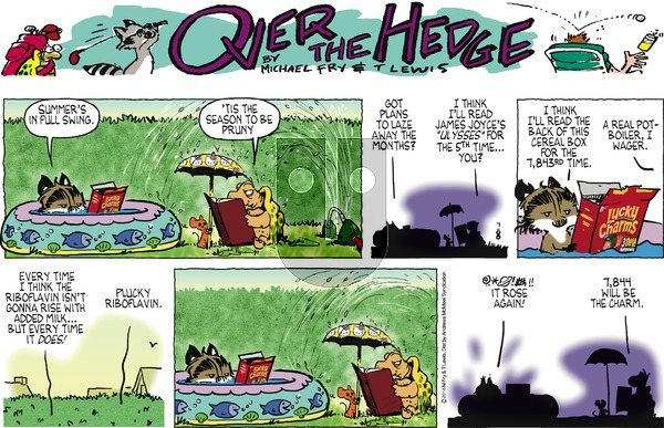 Over the Hedge on July 8, 2018 Comic Strip