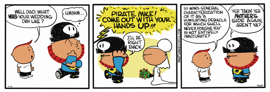 Pirate Mike Comic Strip for November 27, 2018