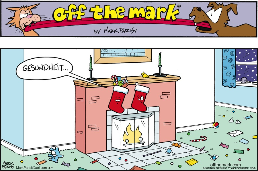 Off the Mark Comic Strip for December 09, 2018