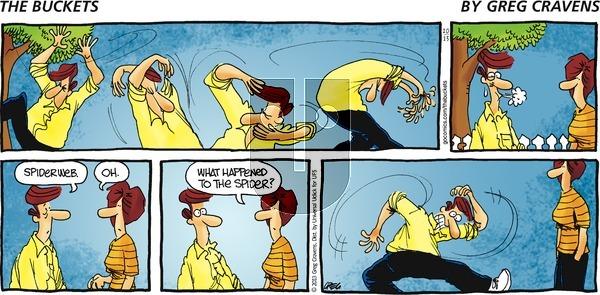 The Buckets on Sunday October 13, 2013 Comic Strip