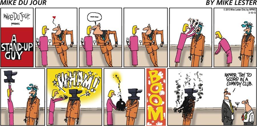 Mike du Jour for Mar 10, 2013 Comic Strip