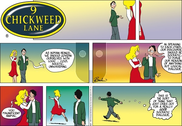 9 Chickweed Lane on Sunday September 1, 2013 Comic Strip