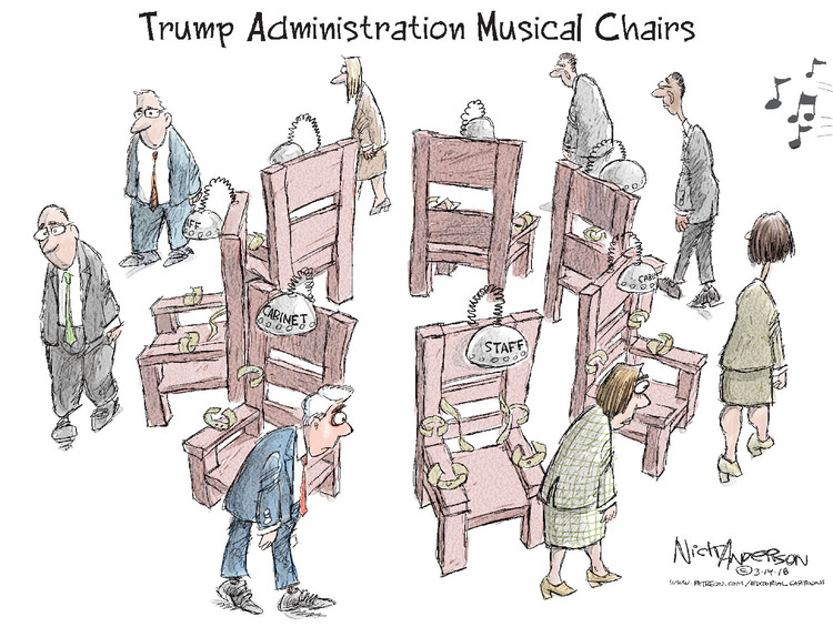 Nick Anderson Comic Strip for March 14, 2018