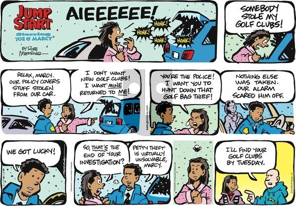 JumpStart on Sunday January 13, 2019 Comic Strip