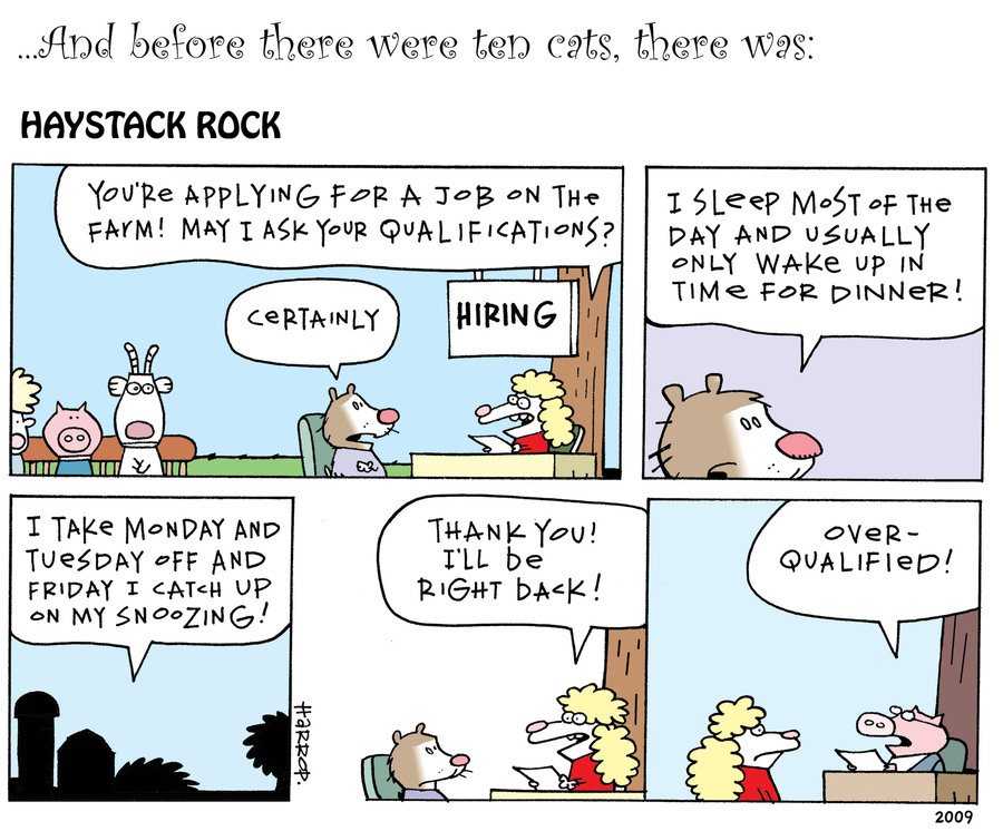 Ten Cats Comic Strip for July 11, 2019