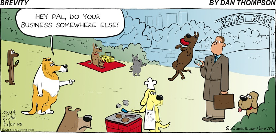 Brevity for Jan 13, 2013 Comic Strip