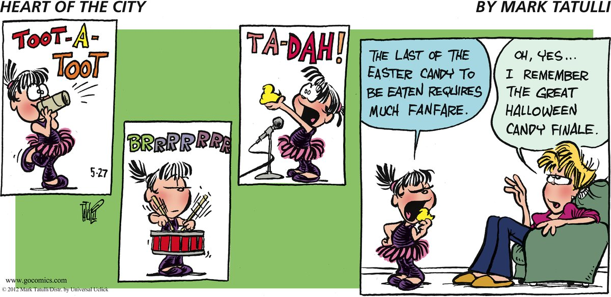 Heart of the City for May 27, 2012 Comic Strip