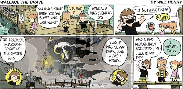 Wallace the Brave on Sunday May 24, 2020 Comic Strip