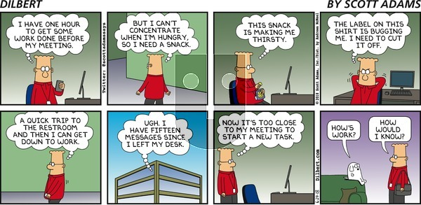 Dilbert on Sunday June 24, 2018 Comic Strip