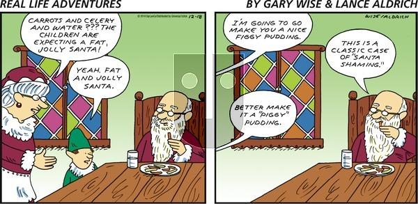 Real Life Adventures on Sunday December 18, 2016 Comic Strip