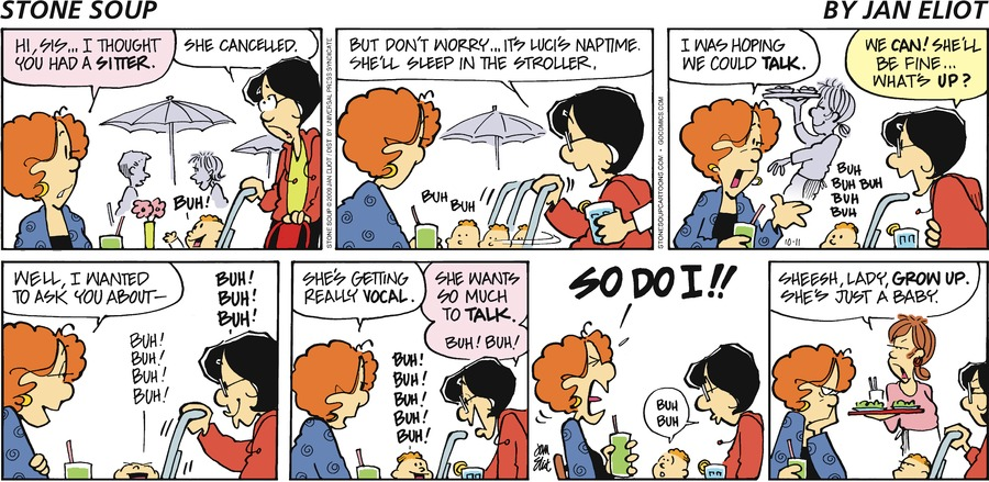 Stone Soup for Oct 11, 2009 Comic Strip