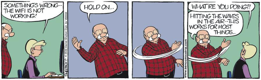 Ben Comic Strip for November 28, 2020