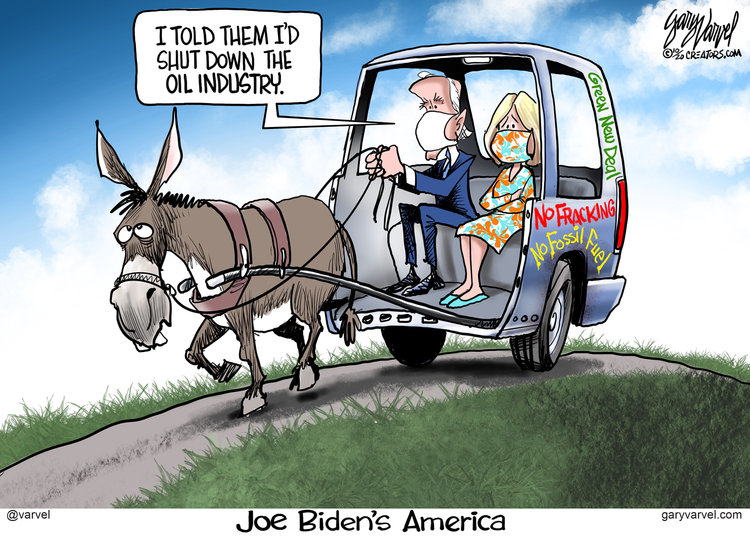Gary Varvel Comic Strip for October 23, 2020