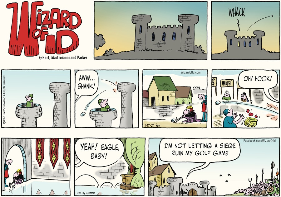 Wizard of Id Comic Strip for January 17, 2021