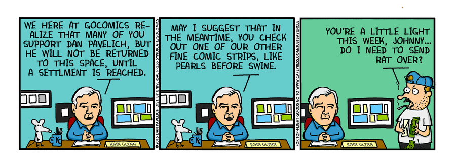 Just Say Uncle Comic Strip for January 19, 2015