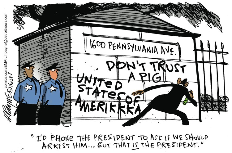 Henry Payne Comic Strip for July 17, 2016