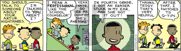 Big Nate on Friday January 29, 2010 Comic Strip