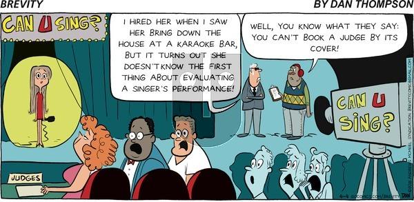 Brevity on Sunday April 4, 2021 Comic Strip