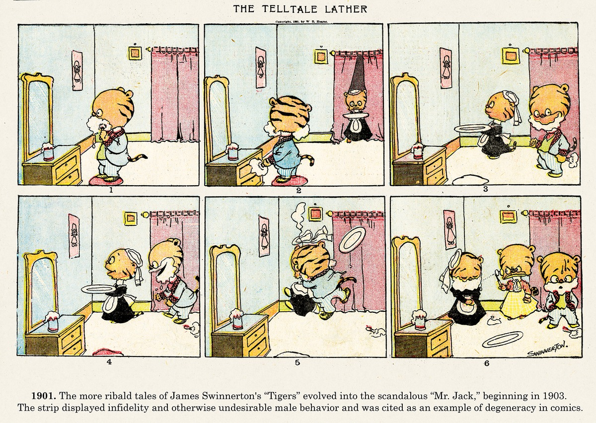 Origins of the Sunday Comics for Nov 3, 2013 Comic Strip