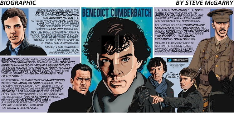 Biographic on Sunday January 10, 2021 Comic Strip