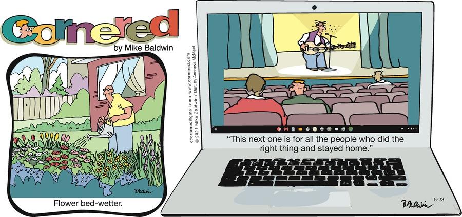 Cornered Comic Strip for May 23, 2021