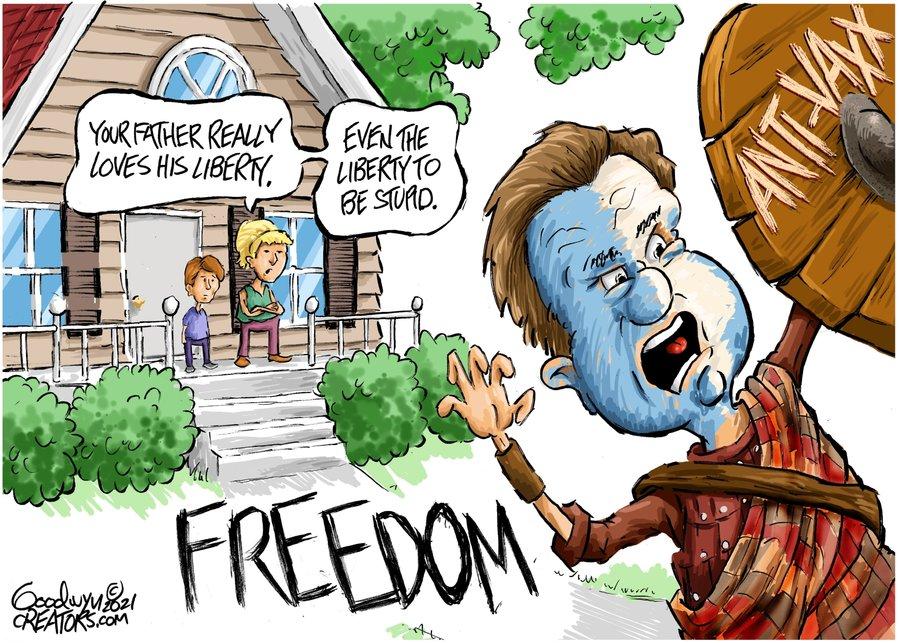 Al Goodwyn Editorial Cartoons Comic Strip for July 31, 2021