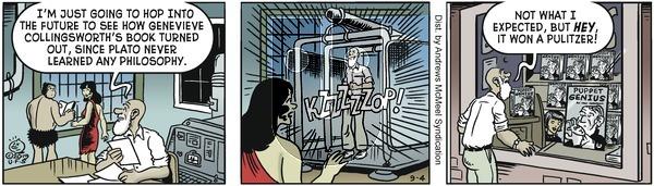 Alley Oop - Wednesday September 4, 2019 Comic Strip